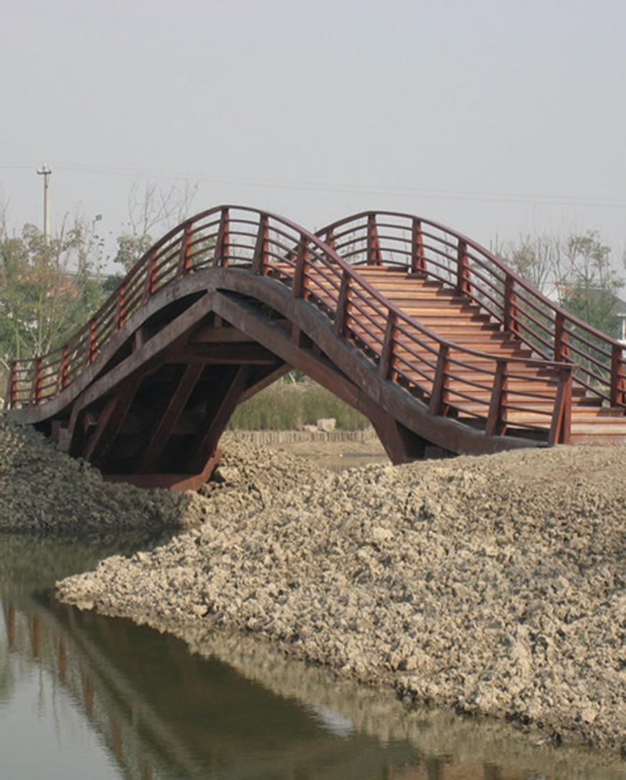 南阳防腐木木桥