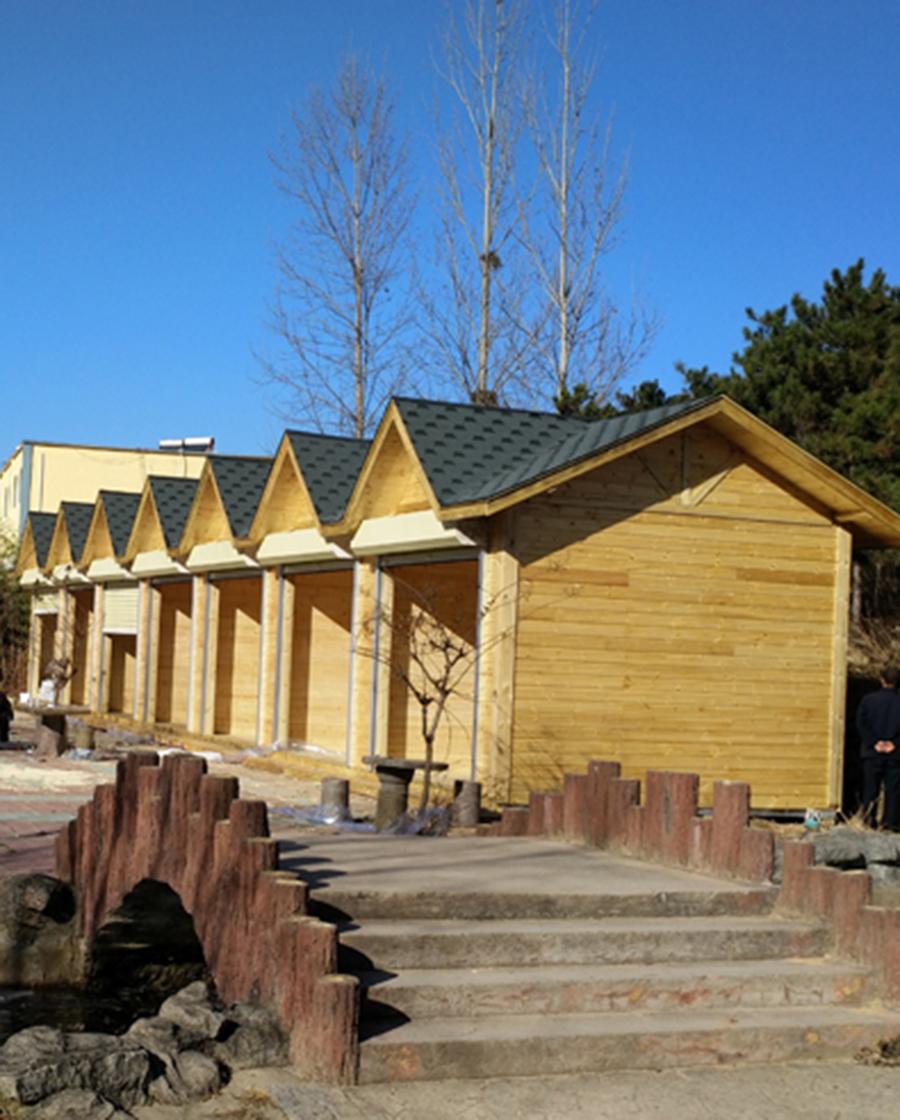 南阳防腐木小木屋