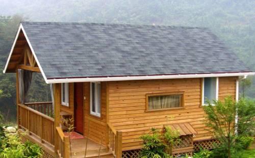 小型防腐木木屋