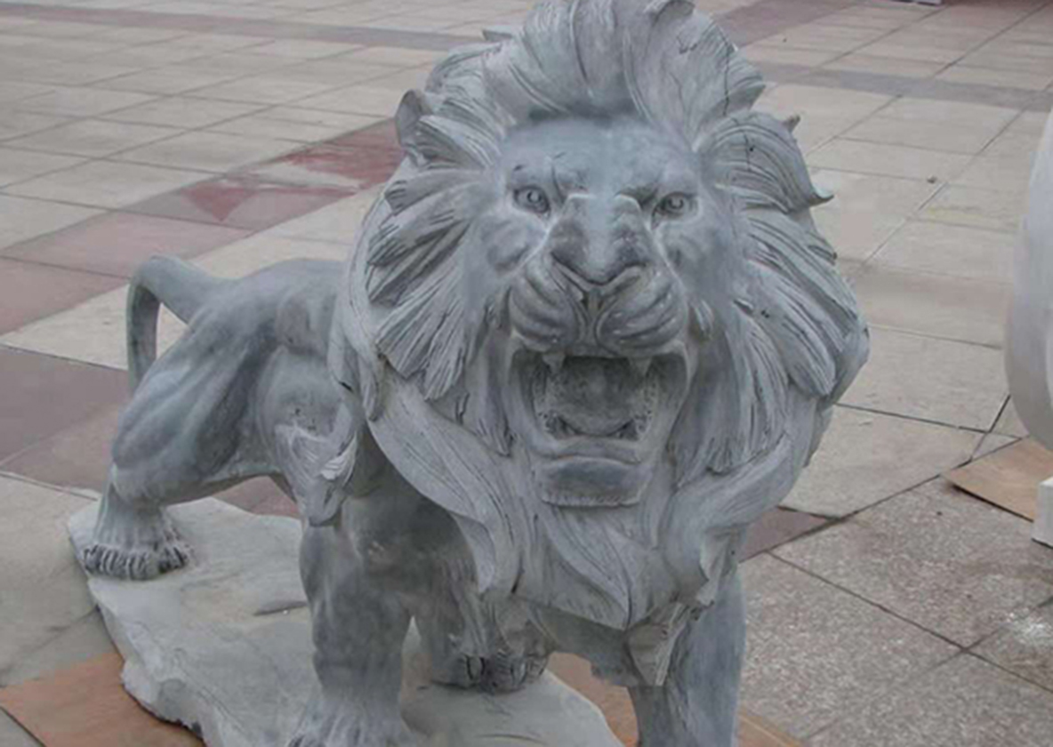 1米2石狮子定做厂家