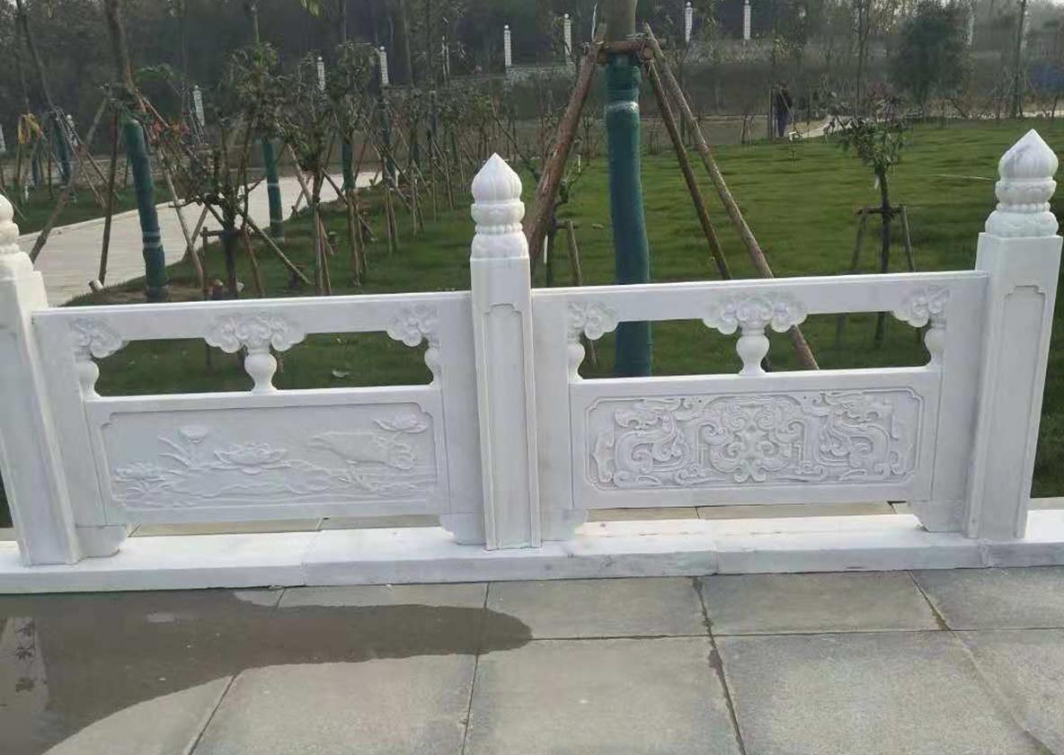 公园汉白玉栏杆