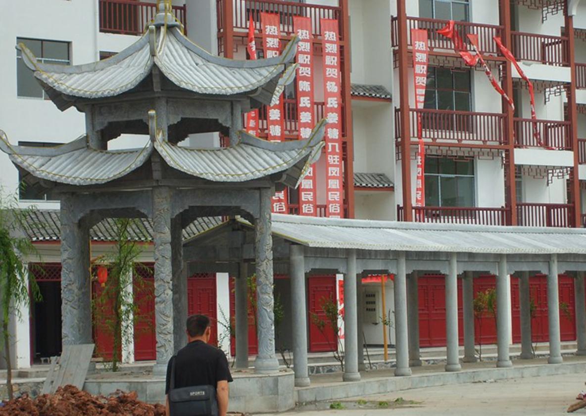 河南青石石雕凉亭建造