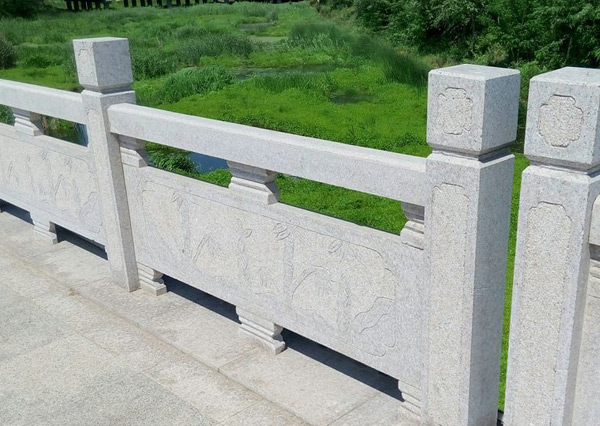 景区花岗岩石栏杆