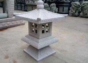 贵州庭院石雕地灯