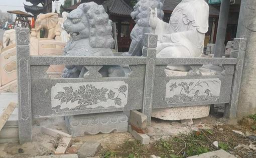 邵阳石雕青石栏杆