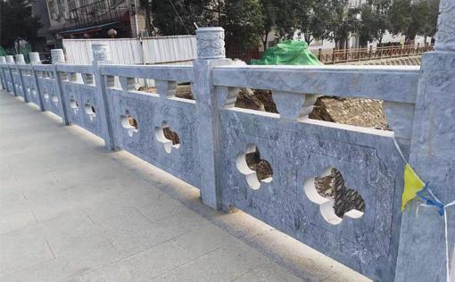 河道石材栏杆定制
