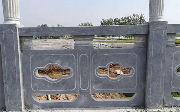 周口石雕栏杆定制