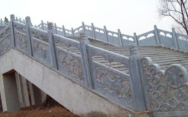 安阳青石石雕栏杆定制