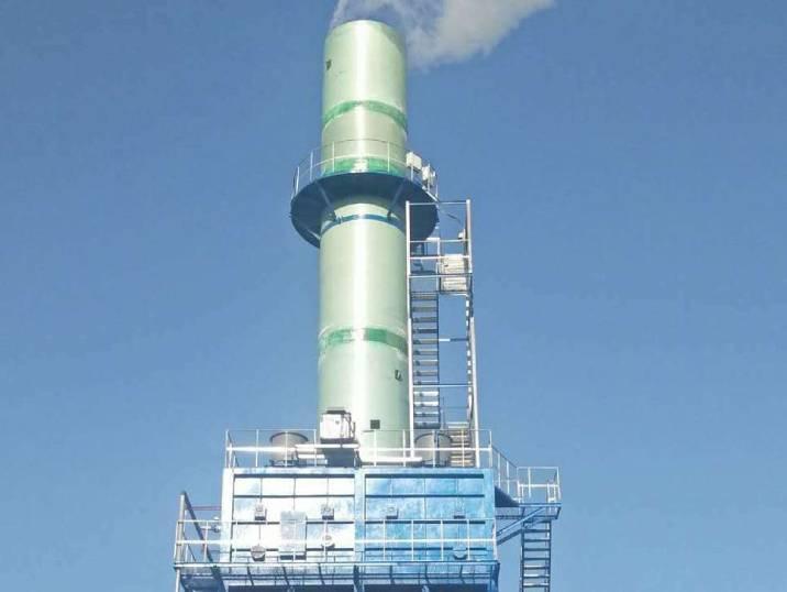 工业湿式静电除尘器