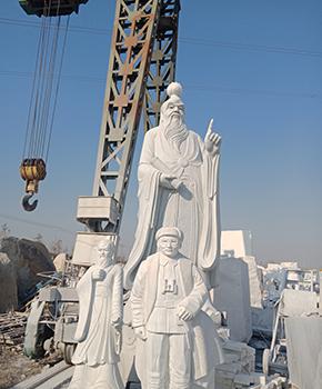 古代石雕人物雕刻