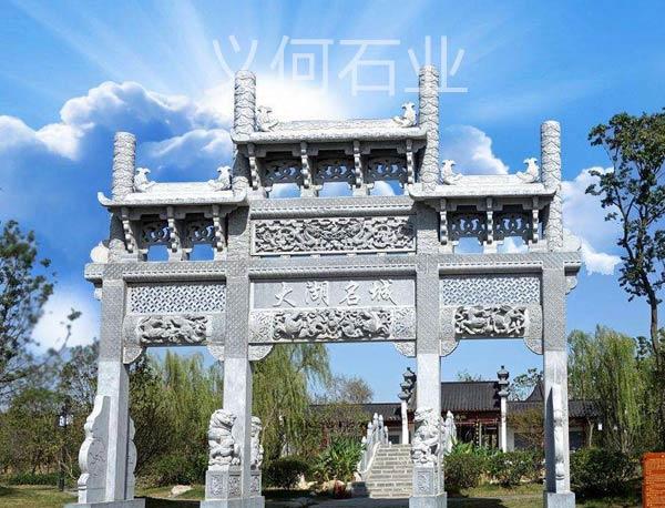 南陽農村石雕牌坊價格