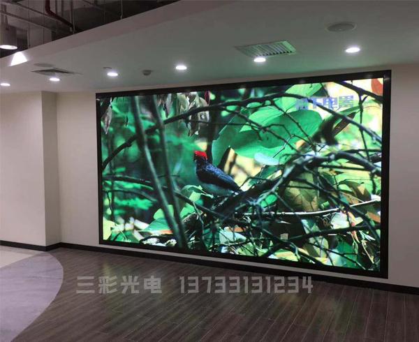 某社区文化中心大厅室内P3全彩屏