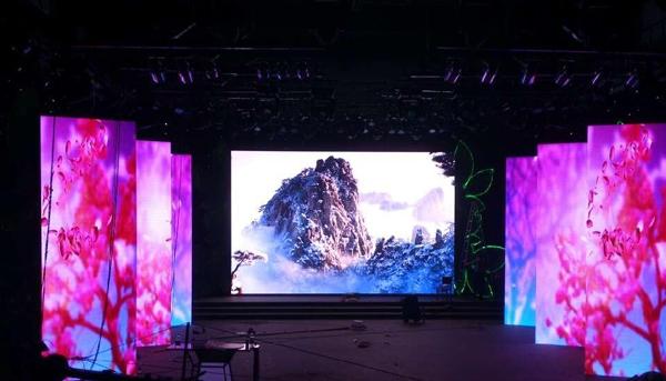 舞台led显示屏,是由什么部分组成,看三彩解答