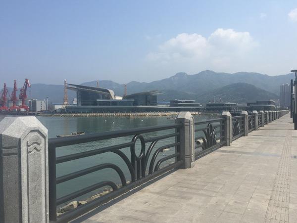 不锈钢河道防护栏杆