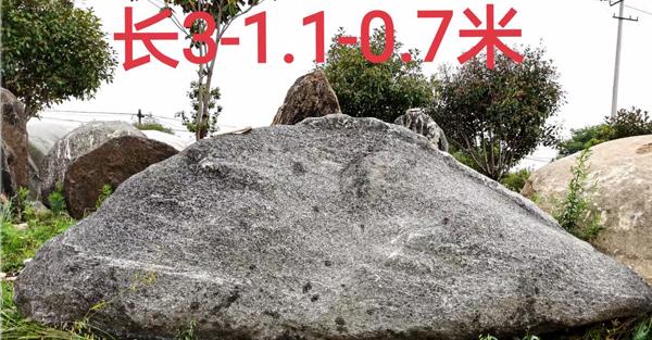 景观3米长泰山石