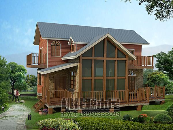 福建木别墅