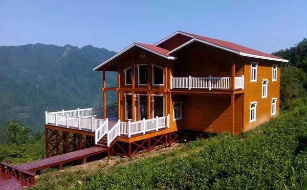 生态木屋别墅