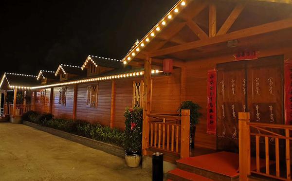 武夷山中式木屋别墅