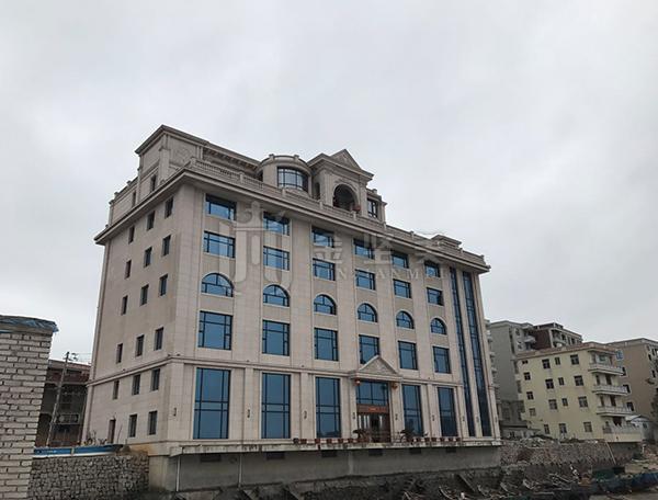 东壁岛马头海景别墅酒店门窗安装