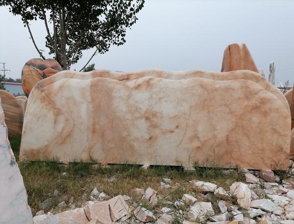 山西晚霞红门牌石生产有什么步骤,你知道吗?