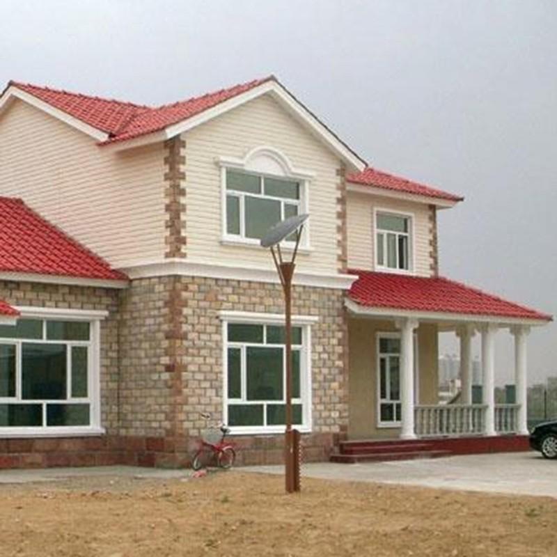 可流动性轻钢结构房屋