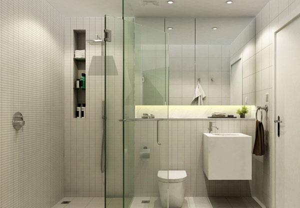 衛生間烤漆玻璃隔斷
