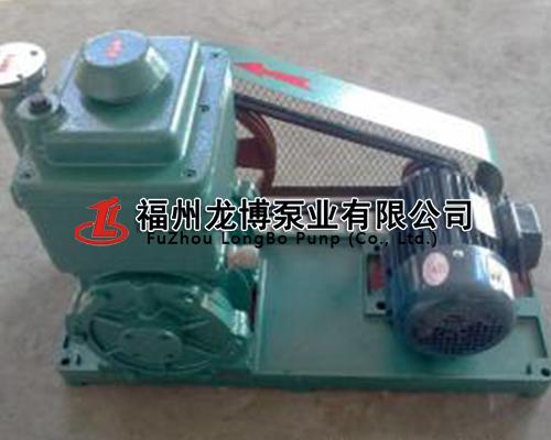 2X雙級旋片式真空泵