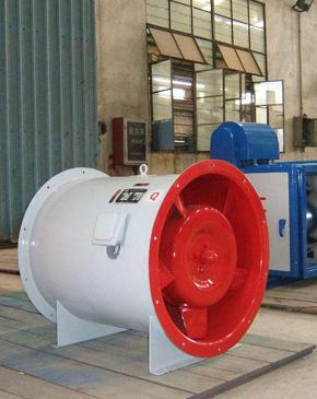 山东消防高温排烟风机占地面积比普通风机小得多,安装也很方便。