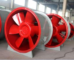 保证消防高温排烟风机运用范围内的出风量。