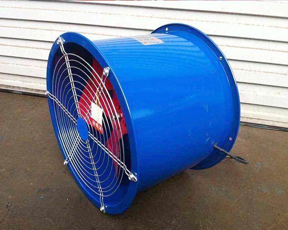 轴流风机安装