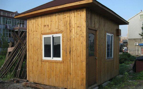 南阳小型防腐木屋