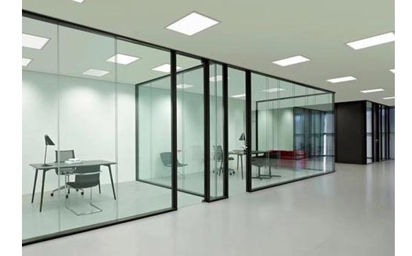 南阳办公室玻璃隔断设计
