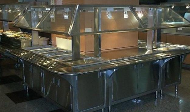 中央厨房使用不锈钢厨具设备