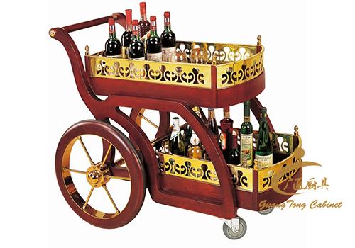 古典式酒水車