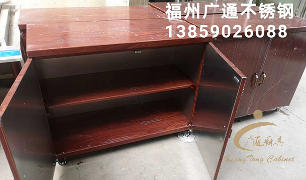 木紋不銹鋼櫥柜