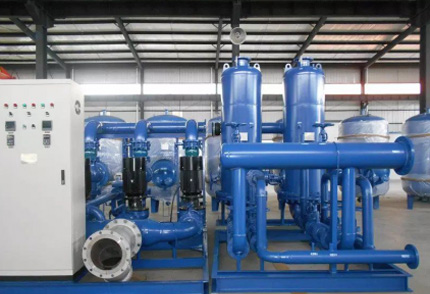 厂区采暖换热机组