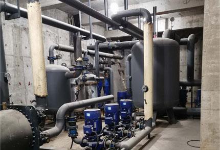 地热井供暖换热调峰机组
