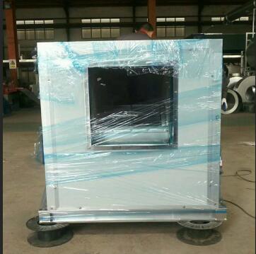 河南低噪音风机箱安装时要做好机体防护工作。