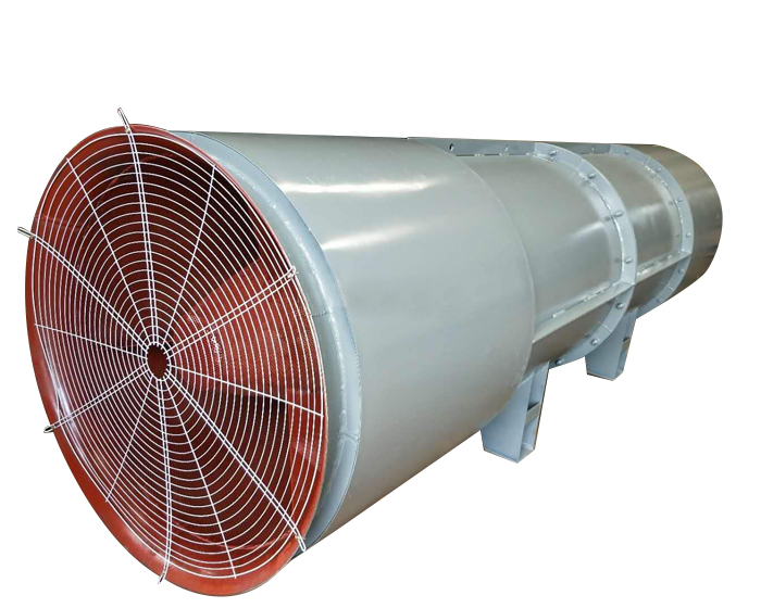 隧道风机呈现水垢的是什么原因?