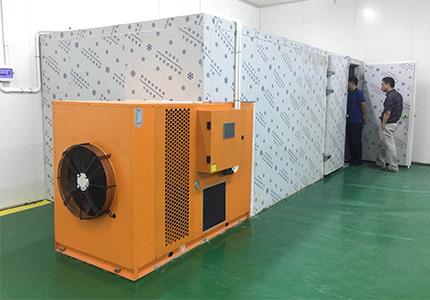 空氣能烘干機在掛面行業的應用以及實踐工藝