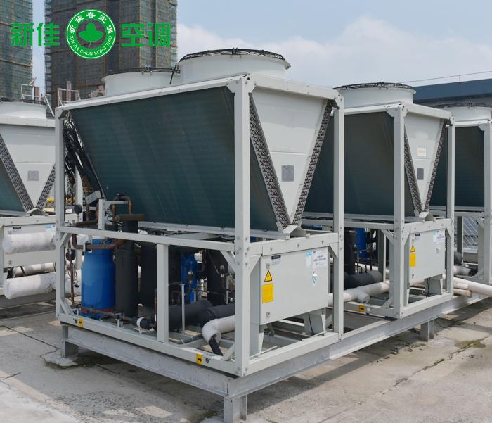 風冷模塊冷水(熱泵)機組