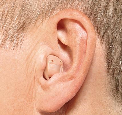 耳道式助听器