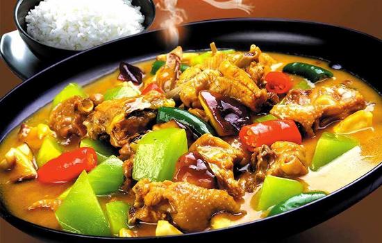 皇冠食铺黄焖鸡米饭