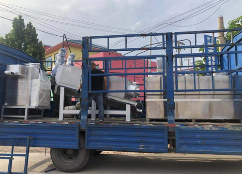 北京叠螺式污泥脱水机发货