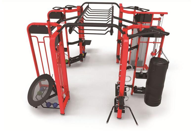 淄博新手使用健身器材健身的注意事项。