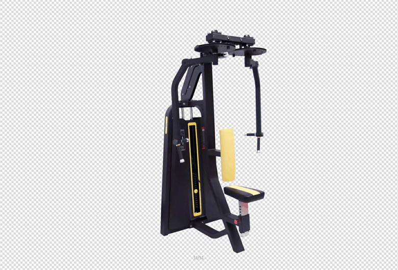 湖北商用健身房器材肩部训练器提高你肩部的力量。