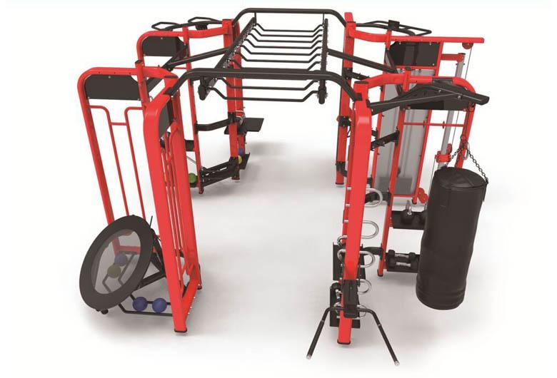 商用健身房器材厂家阻力调节以磁控为主,安全且静音。