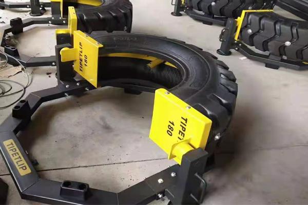 轮胎翻转器