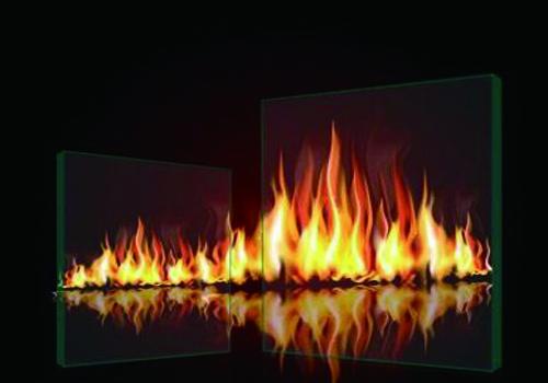 钢化防火玻璃