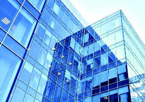鍍膜鋼化玻璃幕